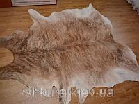 Шкура коровы коричнево-белая 07