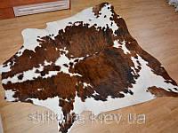 Шкура коровы коричнево-белая 10
