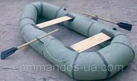 Резиновая, надувная лодка Лисичанка 2 местная