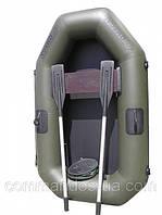 Резиновая, гребная надувная лодка ANVI 190 1 местная