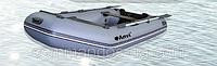 Резиновая, гребная надувная рыбацкая лодка ANVI 260 M 2 местная
