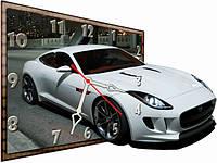 Детские настенные часы Автомобиль, Машина 30*40 см, часы для детской