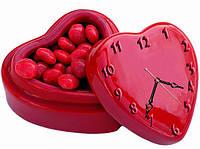 """Настенные фигурные часы """"Сердце"""", авторские часы, часы с объемным эффектом, часы на стену, часы для дома"""