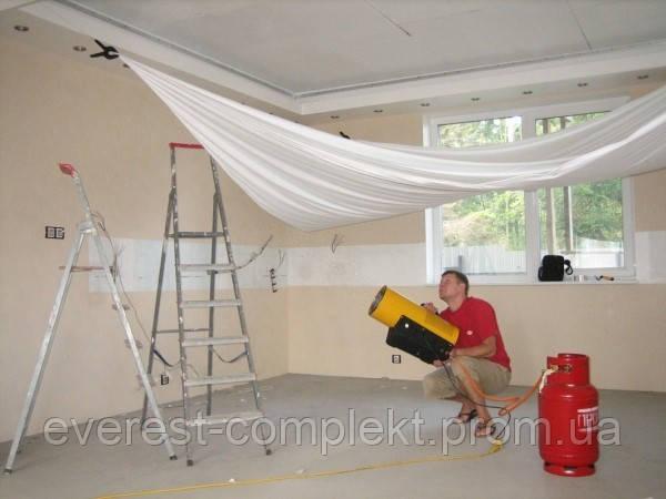 Кревес: реставрация натяжных потолков