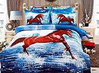 Комплект Постельного Белья 3d в Лошади