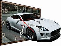 Настенные часы фигурные Автомобиль, Машина 30*40 см, часы для дома
