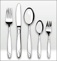 Набор столовых приборов BergHOFF Straing на 6 персон 30 пр 1230320 с серебристым напылением