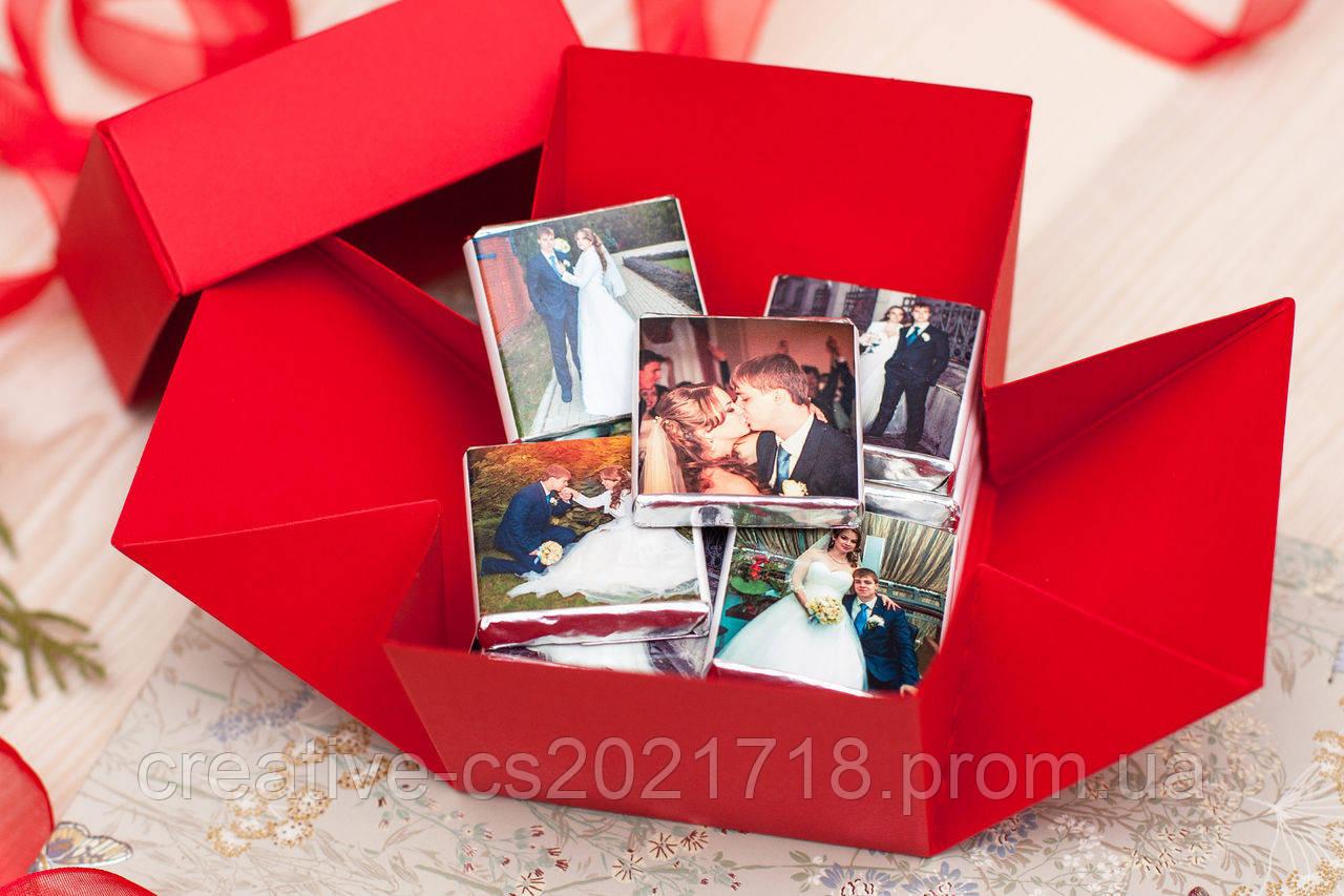 Красивый подарок с фотографиями