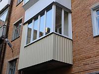 Балконы «под ключ» в Макеевке. Балконы остеклить недорого