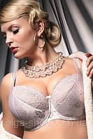 Бюстгальтер полумягкий Kris Line Charlotte (женское нижнее белье, большие размеры)