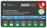 GPS-навигатор Navitel A600 (СНГ+Европа)