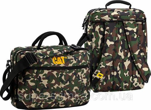 """Сумка-рюкзак для ноутбука до 15,6"""" CAT Millennial, 82999 камуфляж"""