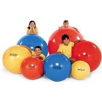 Мяч для фитнеса фитбол диаметр 75см ( в кульке)