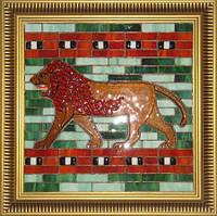 Тиффани Витраж-Картина Лев, Евротех