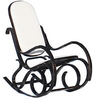 Кресло качалка  темное ткань Canvas C
