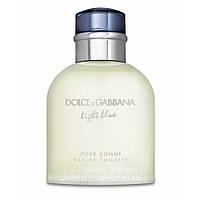 Туалетная вода для мужчин  Dolce & Gabbana Light Blue (Дольче И Габбана Лайт Блю Пух Хомм тестер 125 мл, ОАЭ)