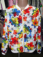 Ветровка летняя шелковая для девочки. Детская одежда.