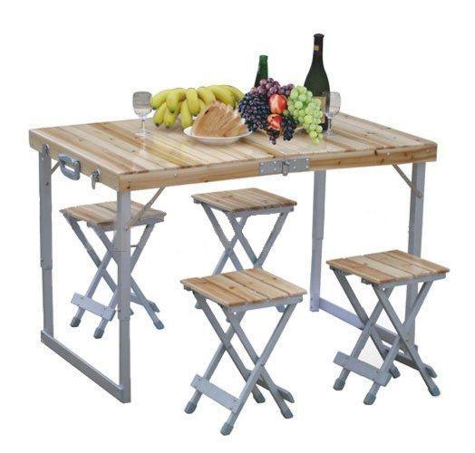 Раскладной стол для пикника  магазине