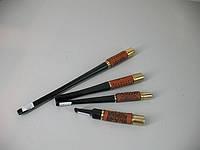 Мундштук для курения сигарет с кожей, стильный, оригинальный подарок
