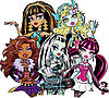 "Вафельные картинки ""Monster High"" А4 (код 01971)"