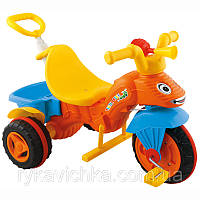Велосипед 3-х колесный для детей с выдвижной ручкой