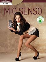 Женские колготки 40 den с заниженной талией ТМ Mio Senso
