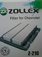 Воздушный фильтр Zollex Z-210 (Chevrolet Aveo) Шевроле Авео