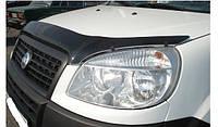 Дефлектор капота- мухобойка Fiat Doblo