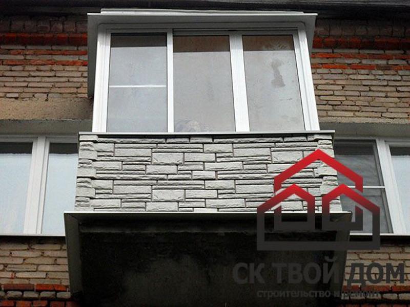 Балкон внешний дизайн