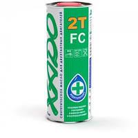Моторное масло XADO Atomic Oil 2T FC 1Л Синтетическое малодымное масло для двигателей мототехники