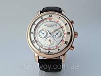 Мужские часы Patek Philippe - SKY@MOON  механика с автозаводом, цвет золото, белый циферблат