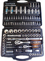 Набор инструмента 1/4» & 1/2» 110 ед. Miol 58-100