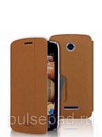 Чехол-книжка MOFI для смартфона Lenovo A390 (Brown)
