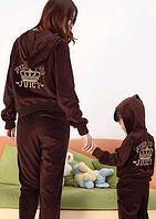 Juicy Couture велюровый костюм для девочки джуси кутюр