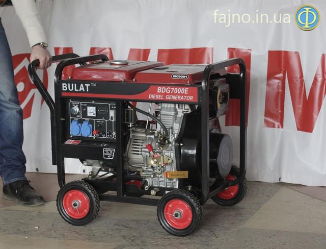 Дизельный генетатор Bulat BDG7000E фото 2