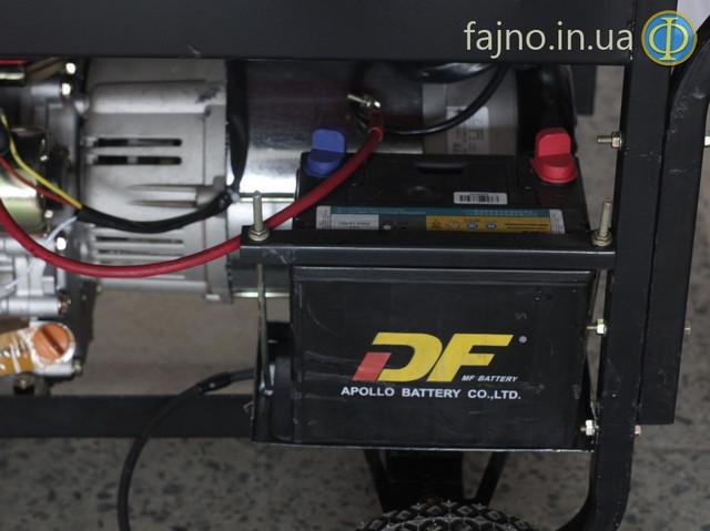 Дизельный генетатор Bulat BDG7000E фото 6