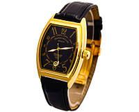 Мужские классические часы FRANCK MULLER N508 черный циферблат, механика с автозаводом, цвет корпуса  золото