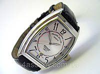 Мужские классические часы FRANCK MULLER N508 серебристый циферблат, механика с автозаводом, цвет платина