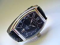 Мужские механические часы FRANCK MULLER N508  черный циферблат, автозавод, цвет корпуса серебро
