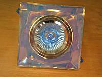 Встраиваемый квадратный светильник Feron 8150-2 MR16 с ручной обработкой
