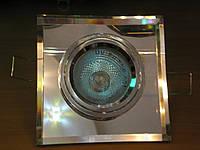Встраиваемый квадратный светильник Feron 8170-2 MR16 с ручной обработкой