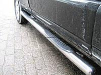 Боковые подножки (трубы) Volkswagen Caddy 2004+