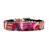 Ошейник Hunter 60133 Tropical для собак кожа/текстиль