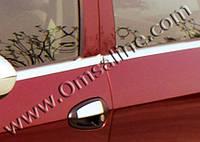 Окантовка стёкол Fiat Grande Punto Coupe (2 шт. купе)