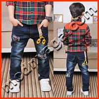 Детские джинсы для мальчиков - новый дизайн
