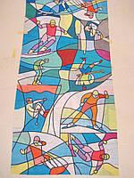 Летний бафф, buff, бесшовный шарф, повязка (#264)