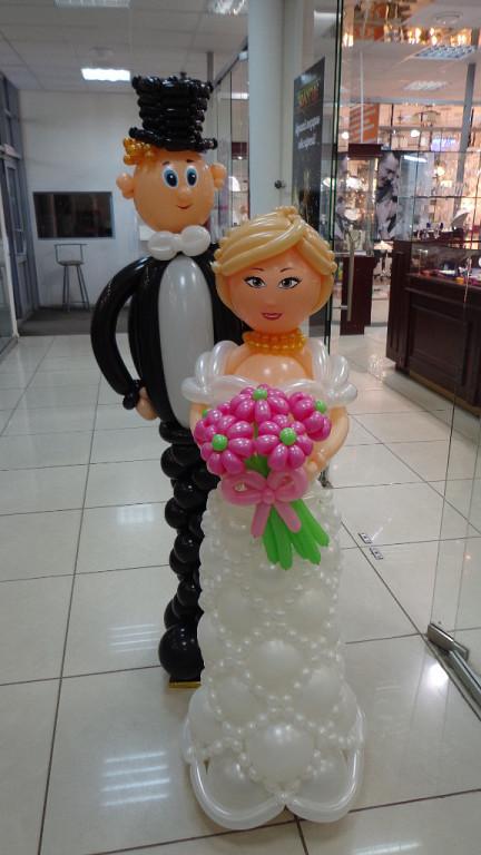 Свадебная арка из шаров мастер класс