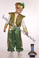 Карнавальный костюм Султан, Восточный Принц, Алладин (Зелёный)