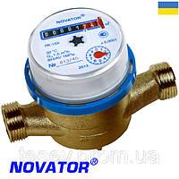 """Счетчик для холодной воды Novator г. Хмельницкий ЛК 20Х. Водомер 3/4"""""""