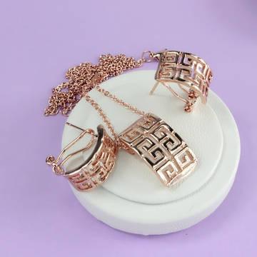 Новинки - кольца, серьги, кулоны и акционные комплекты в позолоте